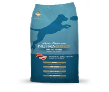 NutraGold Grain Free Dog - Whitefish & Sweet Potato Formula 2.25kg