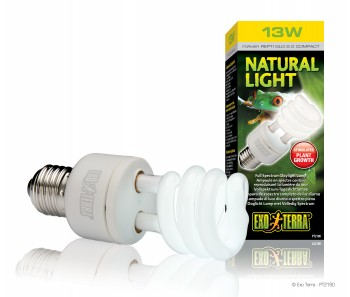 EXO TERRA NATURAL LIGHT - 13W/ 25W