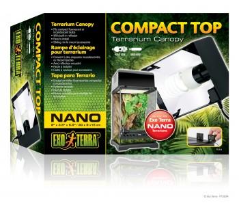 Exo Terra Compact Top Terrarium Canopy- Nano/Mini/Small/Med/Large