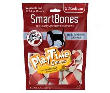 SmartBones Play Time Chews Chicken Medium - 5pcs