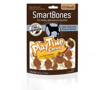 SmartBones Play Time Chews Peanut Butter Mini - 10pcs
