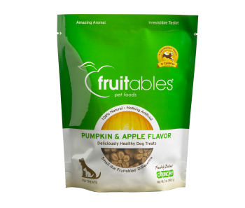 Fruitables Pumpkin & Apple Dog Treats 200g
