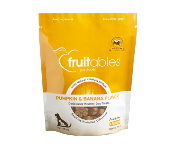 Fruitables Pumpkin & Banana Dog Treats 200g