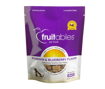 Fruitables Pumpkin & Blueberry Dog Treats 200g