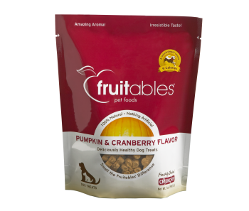 Fruitables Pumpkin & Cranberry Dog Treats 200g