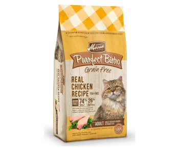 Merrick Cat Dry Perfect Bistro Grain Free - Real Chicken Recipe 4lbs