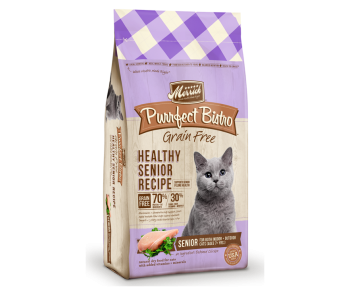 Merrick Cat Dry Perfect Bistro Grain Free - Healthy Senior Recipe 4lbs