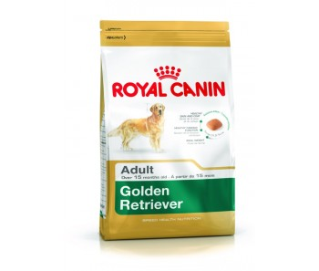 Royal Canin - Canine Breed Golden Retriever Adult - Available in 3kg & 12kg (4x3kg)