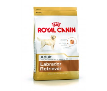Royal Canin - Canine Breed Labrador Adult - Available 3kg & 12kg (4x3kg)