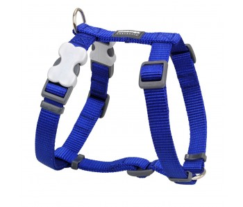 Red Dingo Dog Harness Classic - Dark Blue - Available In S, M, ML & L