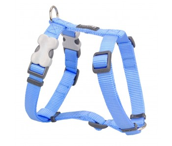Red Dingo Dog Harness Classic - Medium Blue - Available In S, M, ML & L