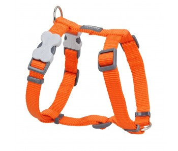 Red Dingo Dog Harness Classic - Orange - Available In S, M, ML & L