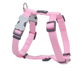 Red Dingo Dog Harness Classic - Pink - Available In S, M, ML & L