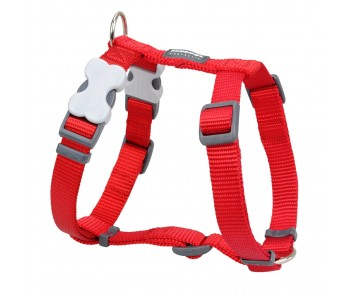 Red Dingo Dog Harness Classic - Red - Available In S, M, ML & L
