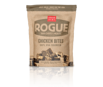 Cloud Star Rogue Air-Dried Chicken Bites Dog Treats 85g