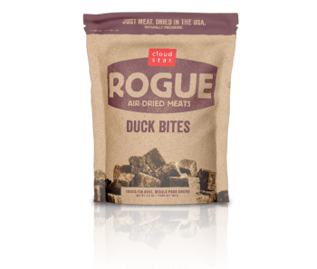 Cloud Star Rogue Air-Dried Duck Bites Dog Treats 71g