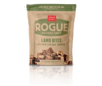 Cloud Star Rogue Air-Dried Lamb Bites Dog Treats 71g