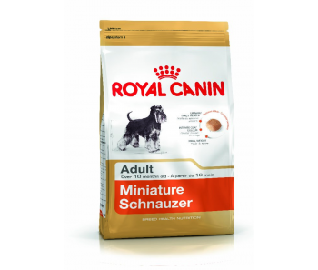 Royal Canin - Canine Breed Mini Schnauzer Adult 3kg