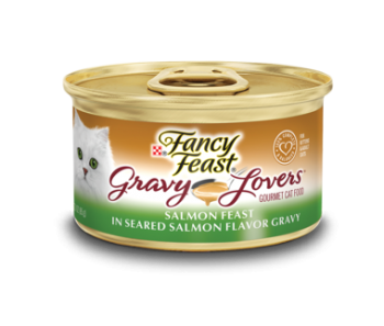 Fancy Feast Gravy Lovers Salmon Feast 85g