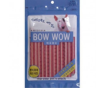 Bow Wow Dog Treats Sandwich Stick with Chicken & Cheese 120g