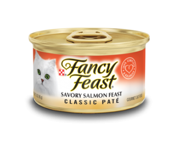 Fancy Feast Classic Savory Salmon Feast 85g
