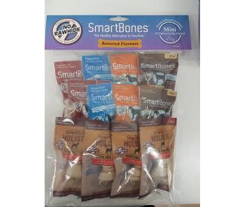 SmartBones Smart Assorted Flavours Mini - 15pcs