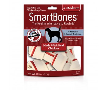 SmartBones Chicken Medium - 4pc