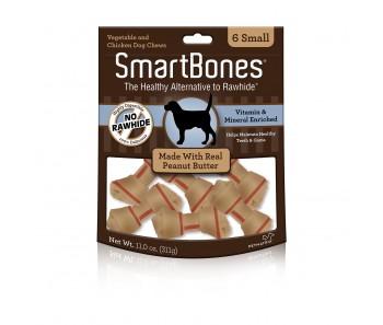 SmartBones Peanut Butter Small - 6pcs
