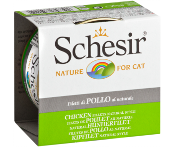 Schesir Cat Canned Natural Chicken 85g