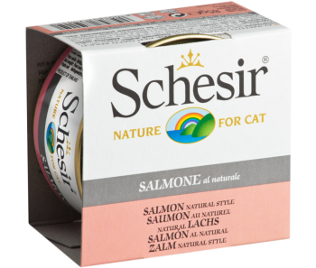Schesir Cat Canned Natural Salmon 85g