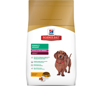 Science Diet Canine Perfect Weight Small & Toy Breed - 4lbs