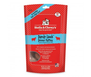 Stella & Chewy's Dog Freeze Dried Dinner Patties Dandy Lamb 15oz