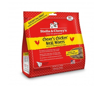Stella & Chewy's Dog Meal Mixers Chewy's Chicken - Available in 9oz & 18oz