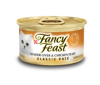 Fancy Feast Classic Tender Liver & Chicken Feast 85g