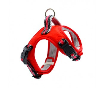 Tarky Vest Harness Reflective Type Red - Available in 3S, 2S, S, M & L