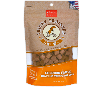 Cloud Star Chewy Tricky Trainers Cheddar Dog Treats 142g