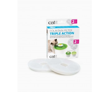 Catit Triple Action Filter – 2 pack