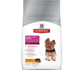 Science Diet Canine Small & Toy Breed Adult - Available in 1.5kg & 8kg