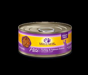 Wellness Cat Canned Complete Health™ Pâté Turkey & Slamon 5.5oz