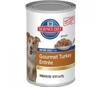Science Diet Canine Canned Senior Turkey Entrée 13oz