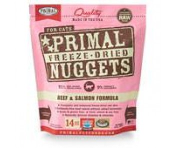 Primal Freeze-Dried Feline Beef & Salmon Formula - 14oz
