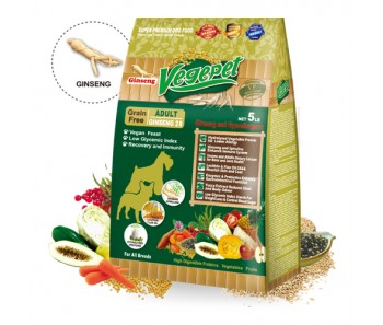 VegePet Dog Grain-Free Ginseng - 2.27kg