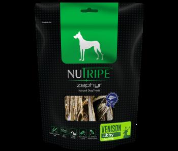 Nutripe Zephyr Venison Ribby Dog Treats 100g