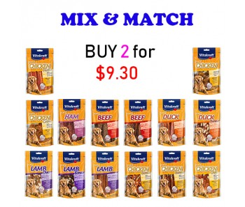 """VITAKRAFT DOG TREATS MIX & MATCH 80g"