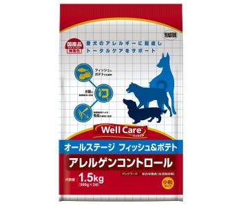 Well Care All Breeds Fish & Potato Puppy And Adult - 1.5kg