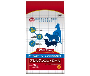 Well Care All Breeds Fish & Potato Puppy & Adult - 3kg
