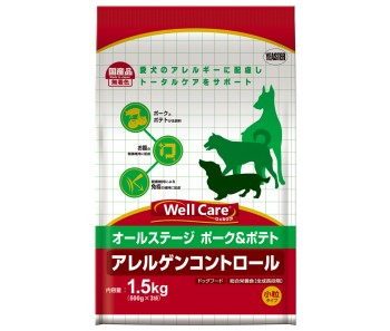 Well Care All Breeds Pork & Potato Puppy And Adult - 1.5kg