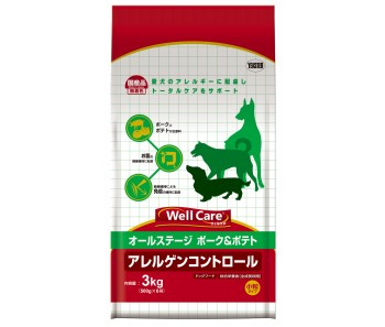Well Care All Breeds Pork & Potato Puppy And Adult - 3kg