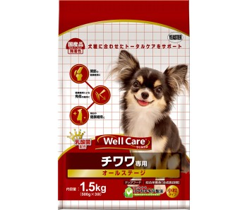 Well Care Chihuahua All Stages - 1.5kg