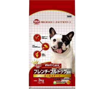 Well Care French Bulldog All Stages - 3kg